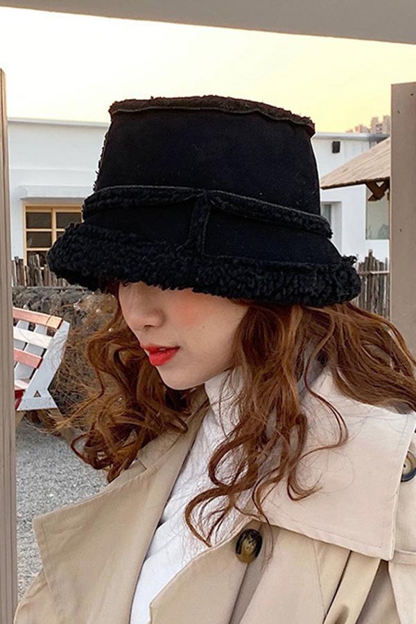활용도갑 양면디자인 따수미 벙거지 모자 (낙타,블랙,아이보리,딥커피)